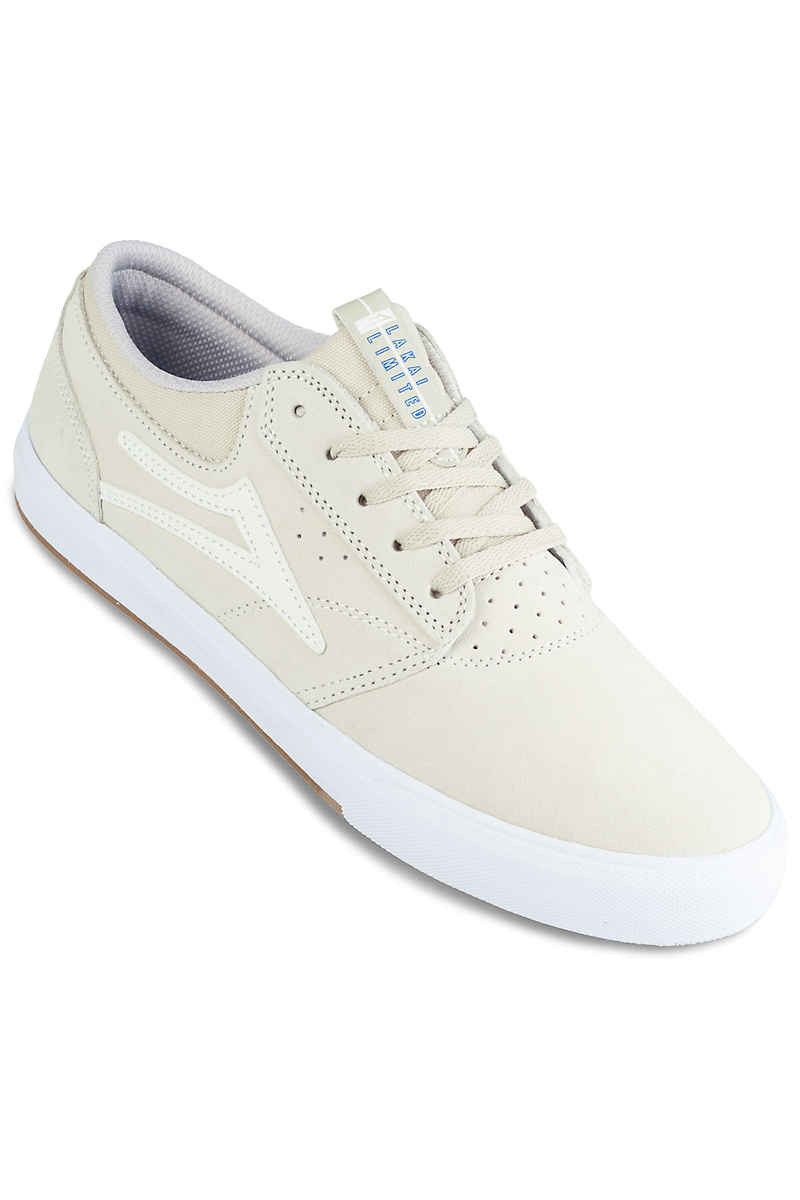 Lakai Griffin Suede Chaussure (white white)