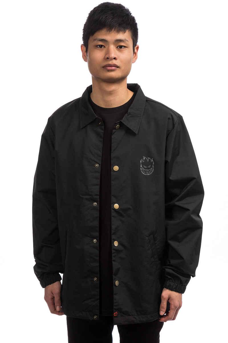 Spitfire Bighead Double Coach Jacket (black grey)