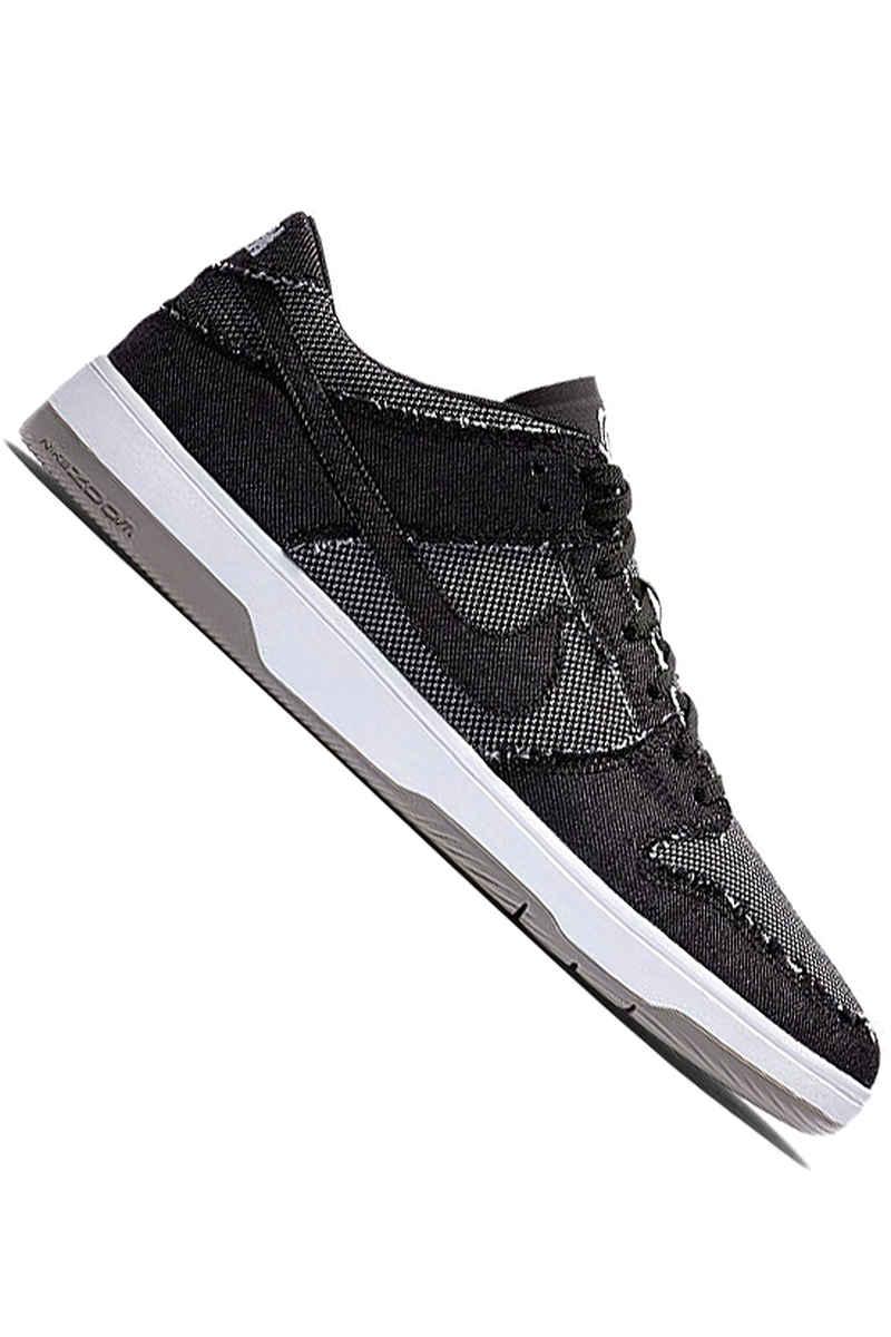Nike SB x Medicom Toy Dunk Low Elite QS Schuh (black white medium grey)