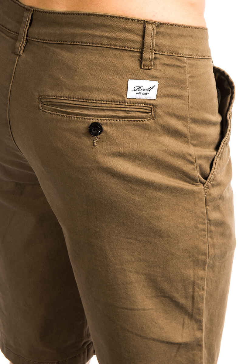 Shorts Buy Reell At brown Flex Chino Skatedeluxe Grip qrapfaAtwP