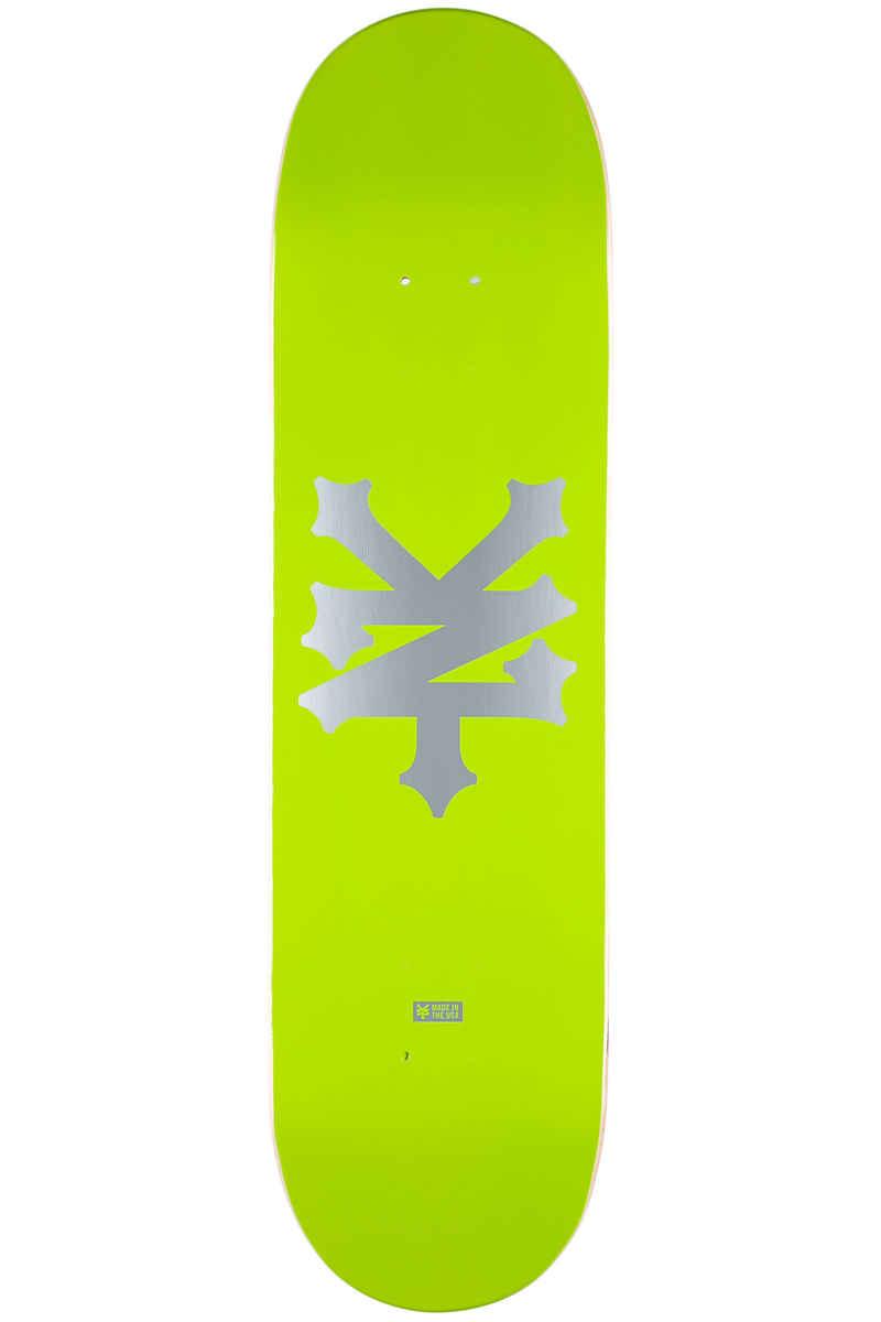 "Zoo York Big Cracker Energy 8.25"" Deck (green silver)"