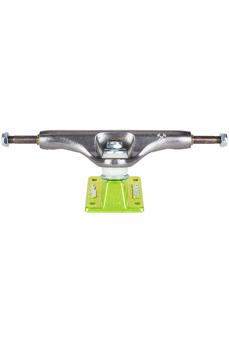Thunder 148 High Lights Titanium OG Script Truck (silver shocker green)