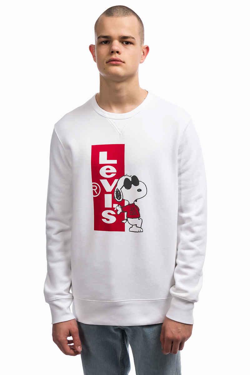 Sweatshirt mit Snoopy-Grafik - Weiß Levi's ZdbKGZ8CX