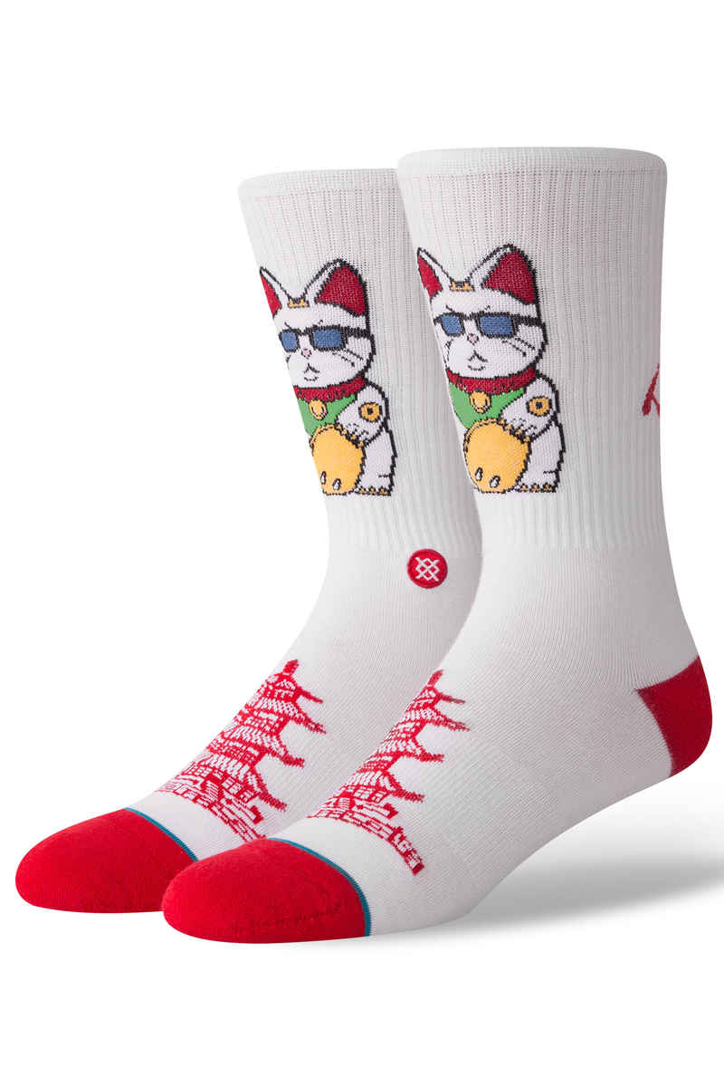 Stance Thank You Enjoy Chaussettes US 6-12 (white)