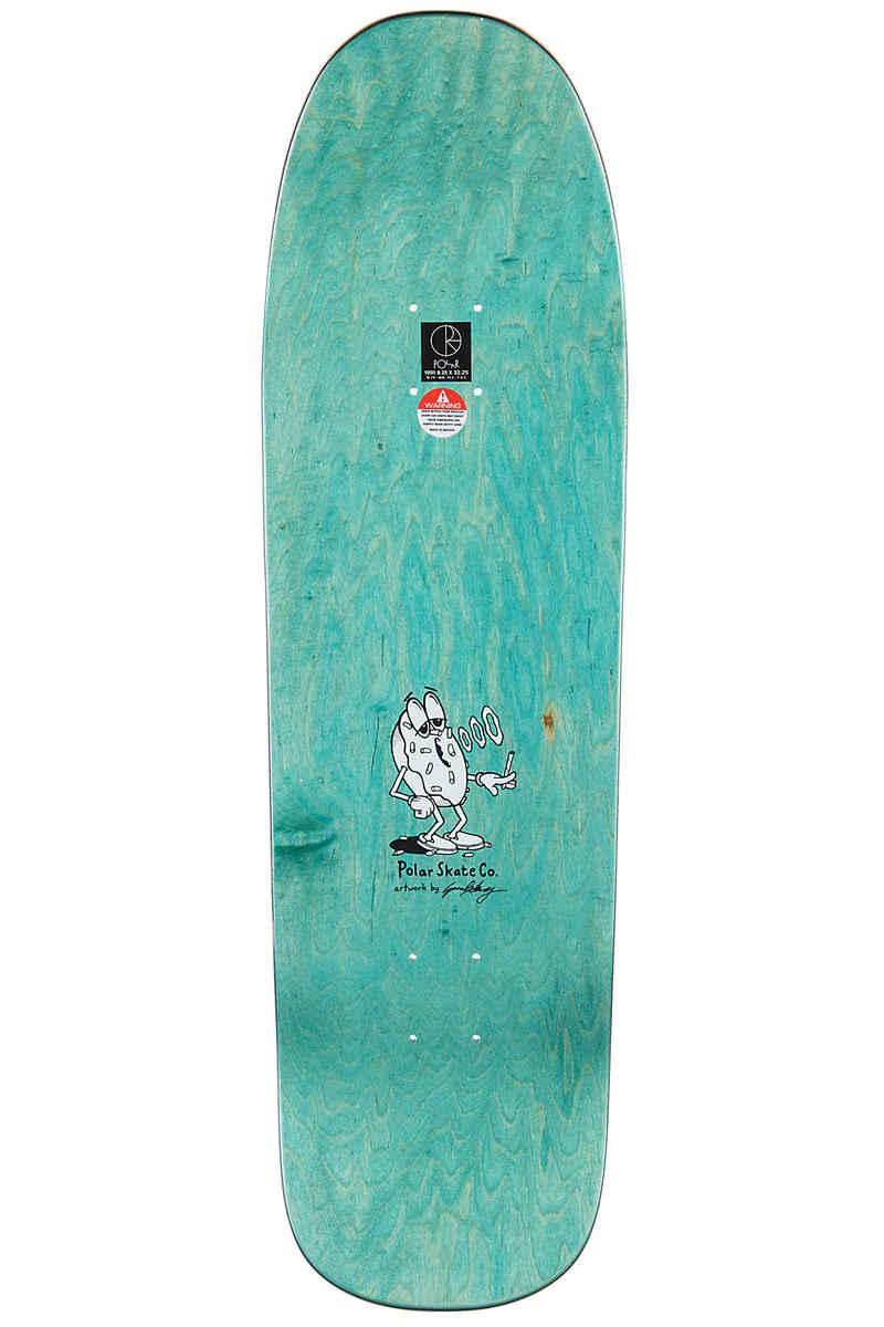 """Polar Skateboards Herrington Smoking Donut 9.25"""" Deck (multi)"""