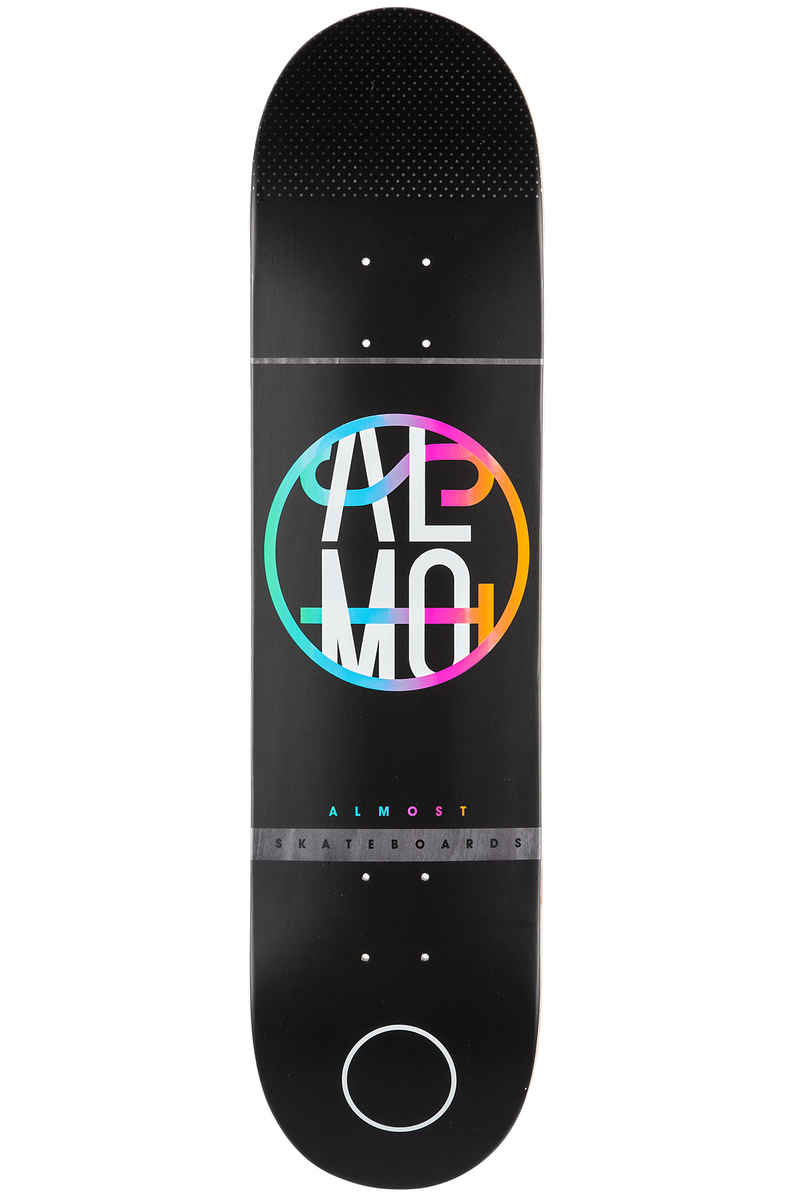 "Almost Team Color Crash 8"" Planche Skate (black)"