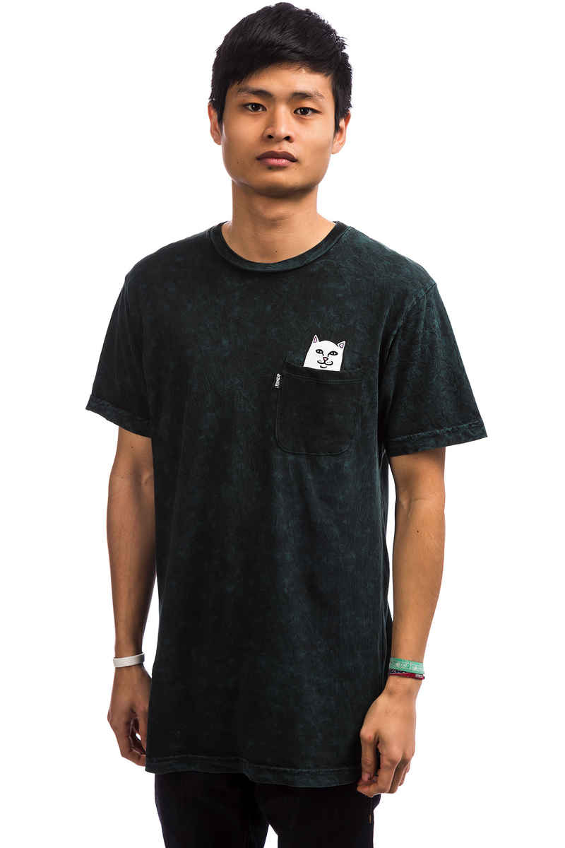RIPNDIP Lord Nermal Pocket T-Shirt (aqua mineral wash)