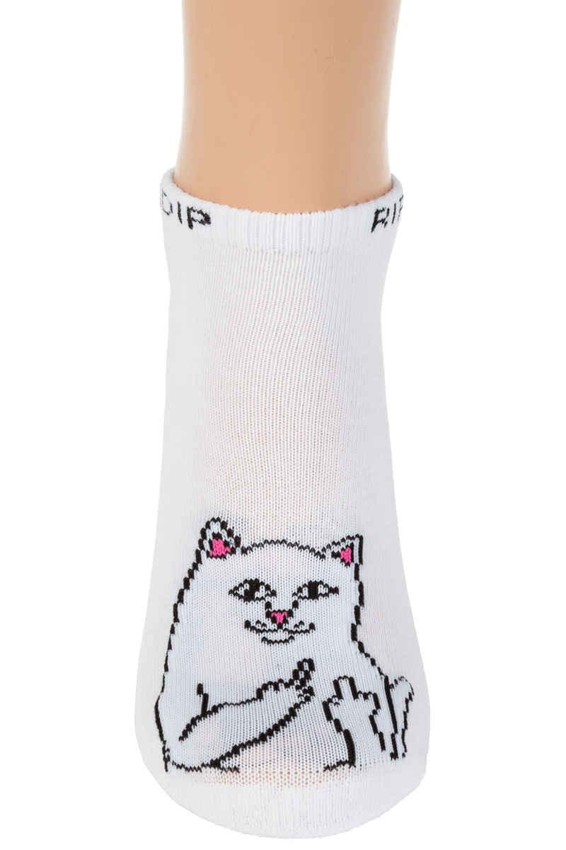 RIPNDIP Lord Nermal Ankle Socks US 7-11 (white)