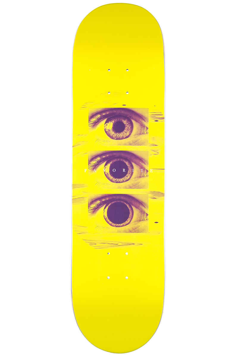 "Favorite Tripping 8.375"" Deck (neon yellow)"