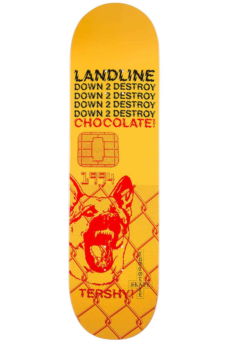 "Chocolate Tershy Darkside 8.5"" Deck (yellow)"