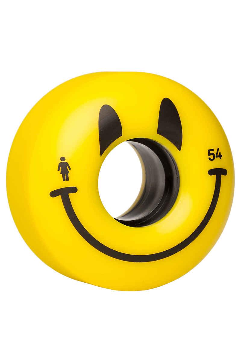 Girl Happy Rueda (yellow) 54mm Pack de 4 85A