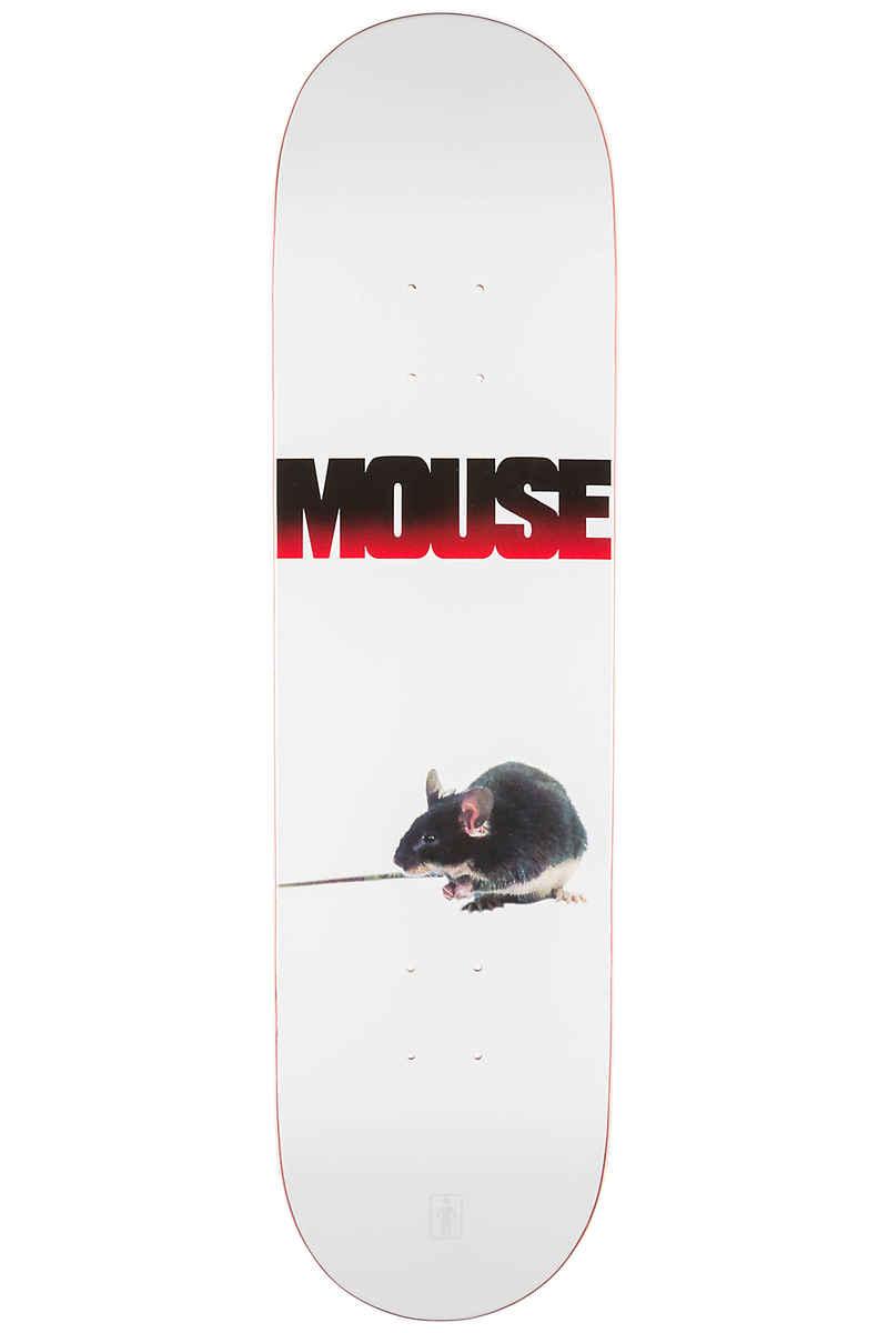 """Girl Team Girl Films Mouse 8.25"""" Deck (white)"""