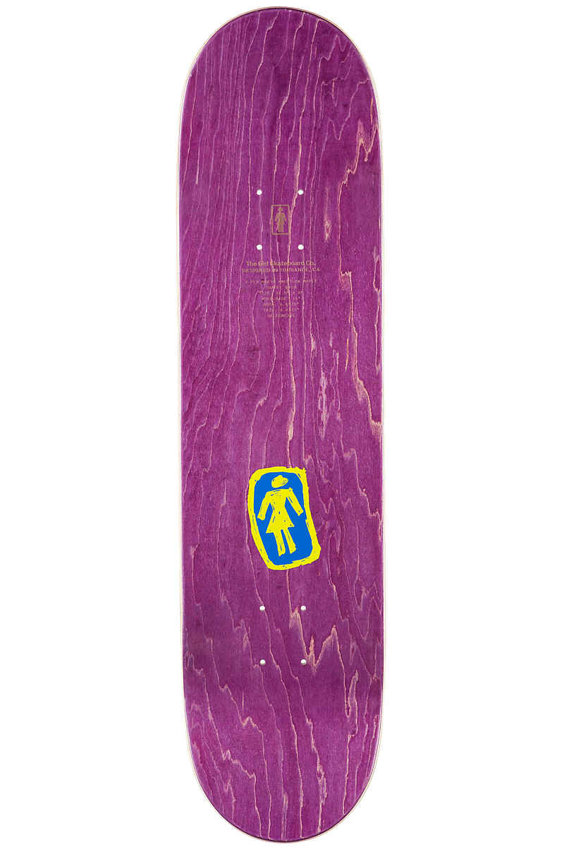 "Girl Capaldi Sketchy OG 8"" Tabla (blue purple)"