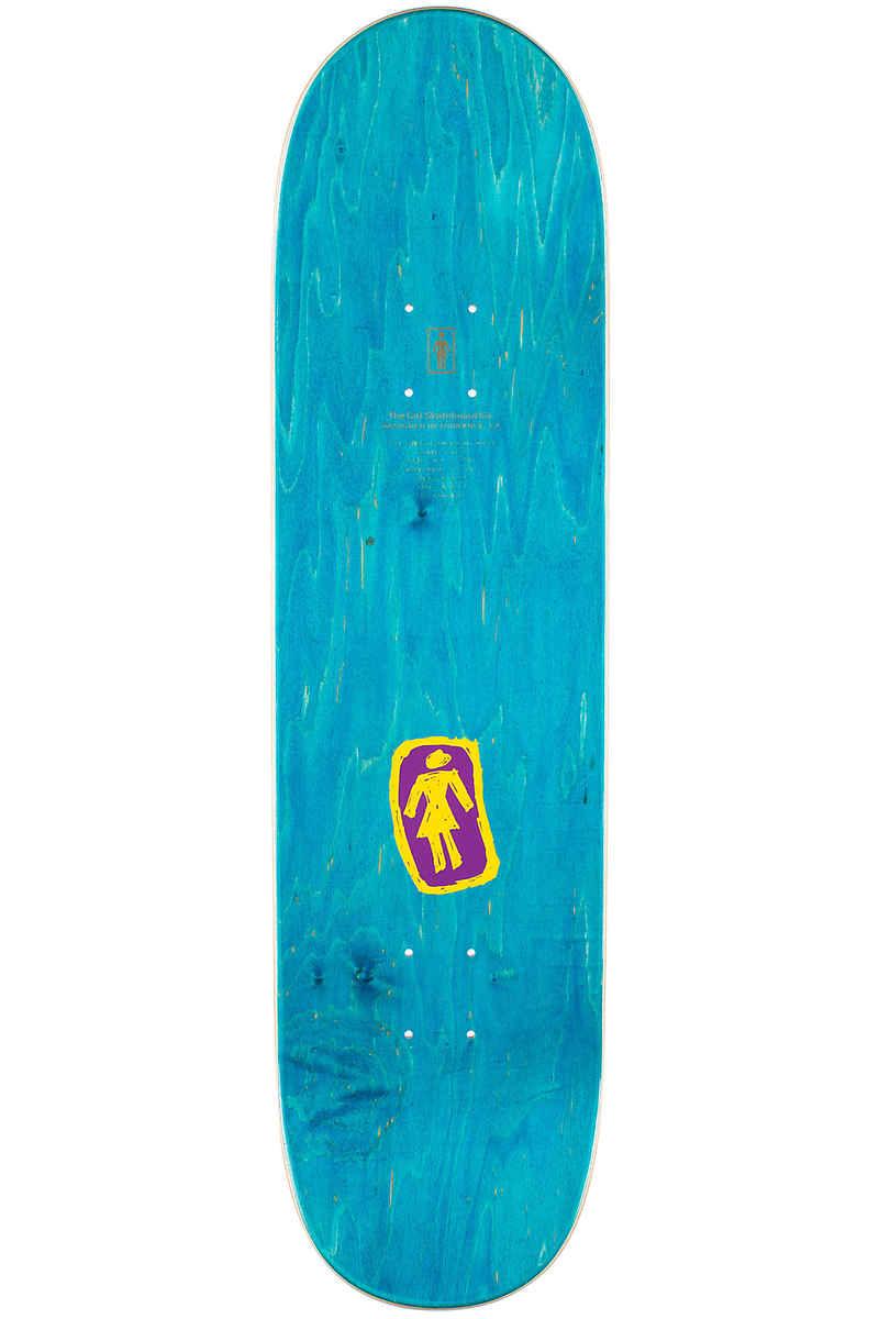 "Girl Howard Sketchy OG 8.5"" Deck (purple yellow)"