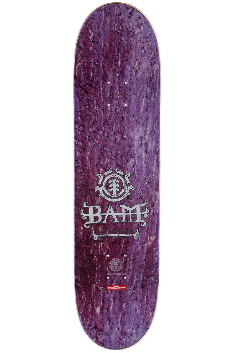 "Element Bam Belfry 8.25"" Deck (purple black)"