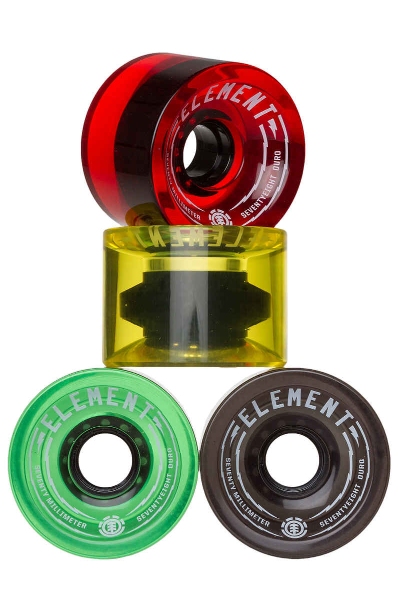 Element Rasta Roue 4 Pack 70mm 78A