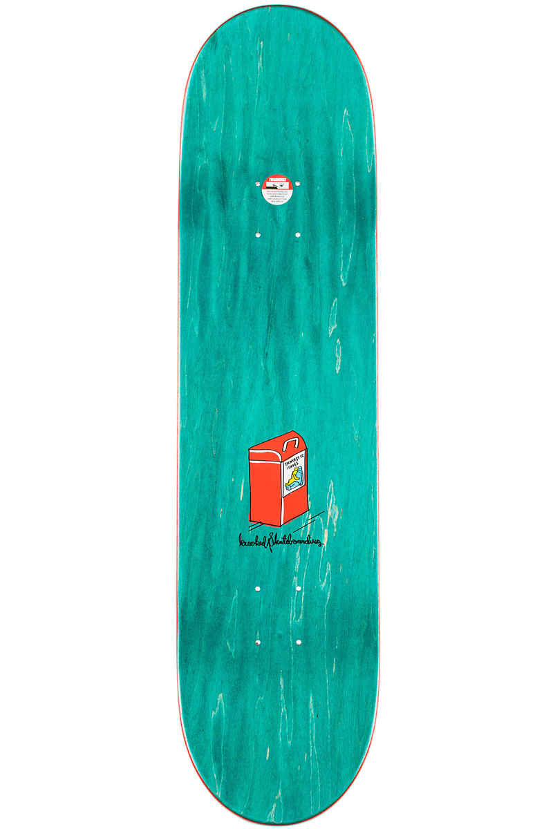"""Krooked Anderson Domestic Issues 8.12"""" Deck (white)"""