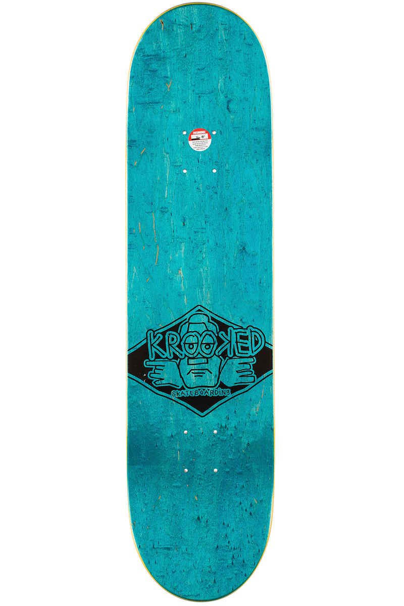 """Krooked Team Sell Out 8.18"""" Planche Skate (multi)"""