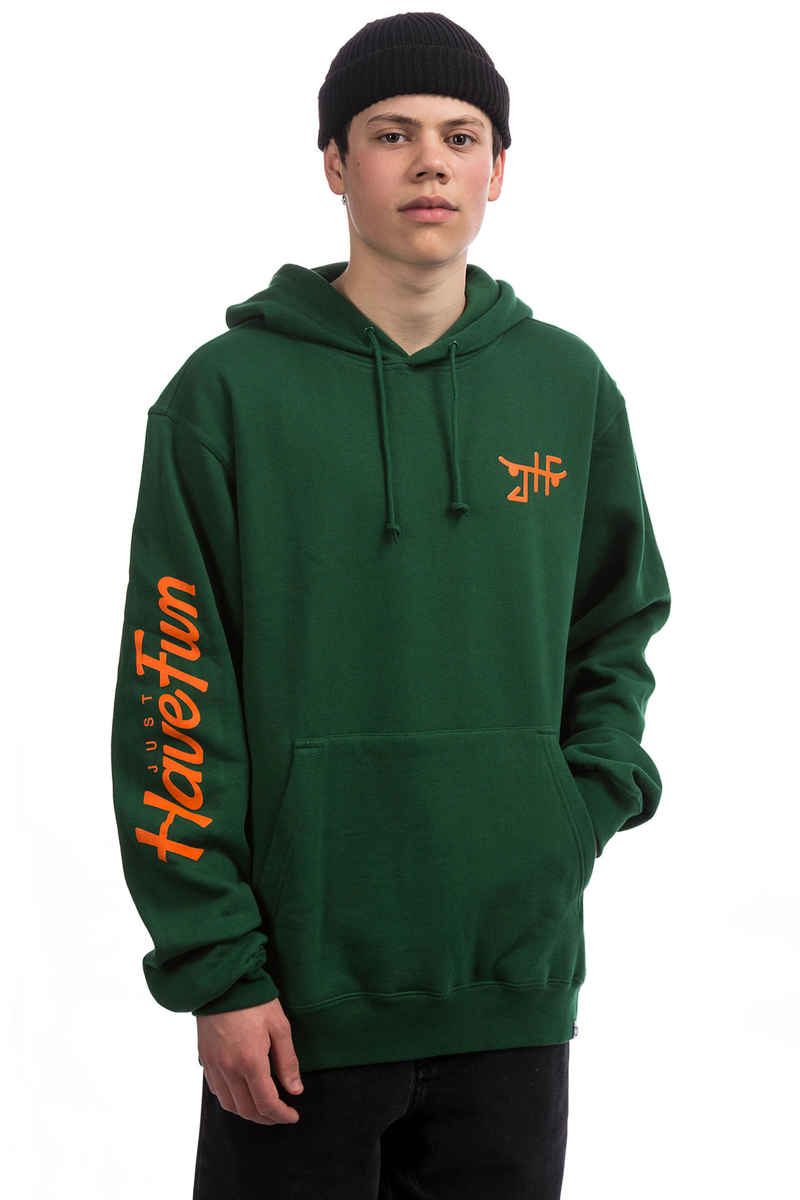 JHF Teamed Up Hoodie (forest green)