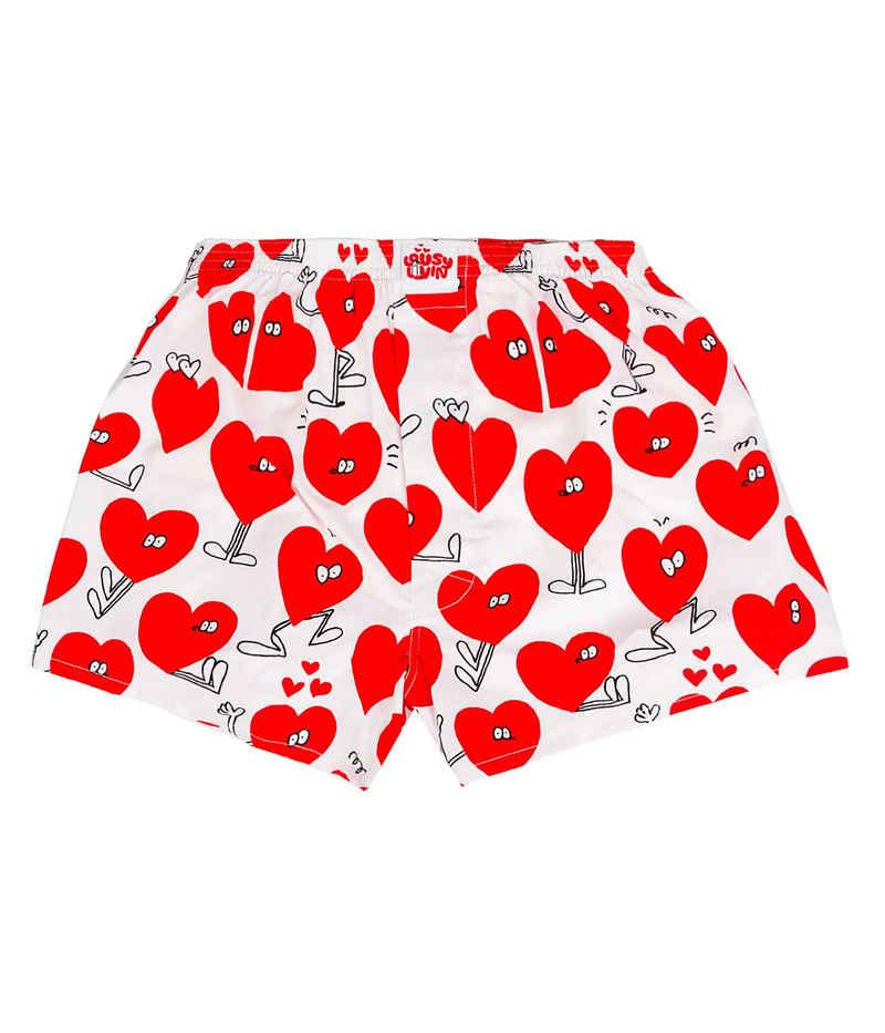 Lousy Livin Underwear Valentines Boxershorts (white)