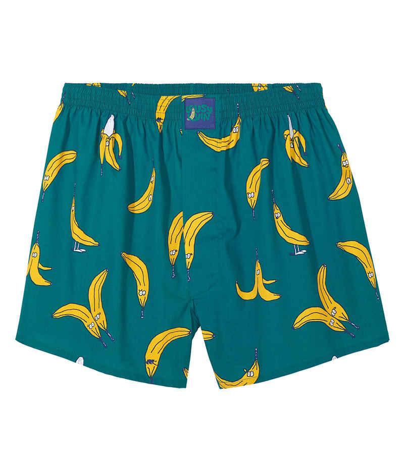 Lousy Livin Underwear Bananas Boxershorts (ocean)
