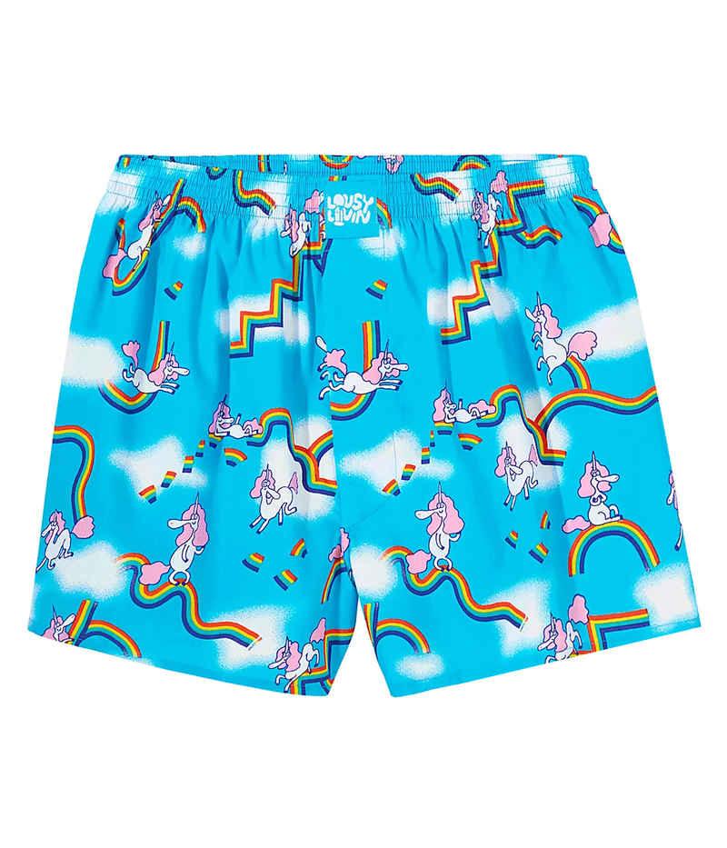 Lousy Livin Underwear Sky Gym Boxers (blue atol)