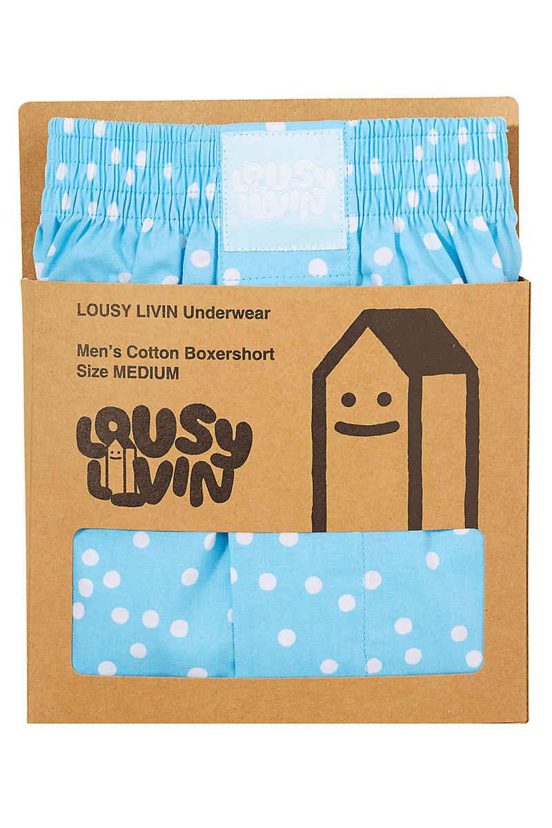 Lousy Livin Underwear Dots Boxershorts (aquamarine)