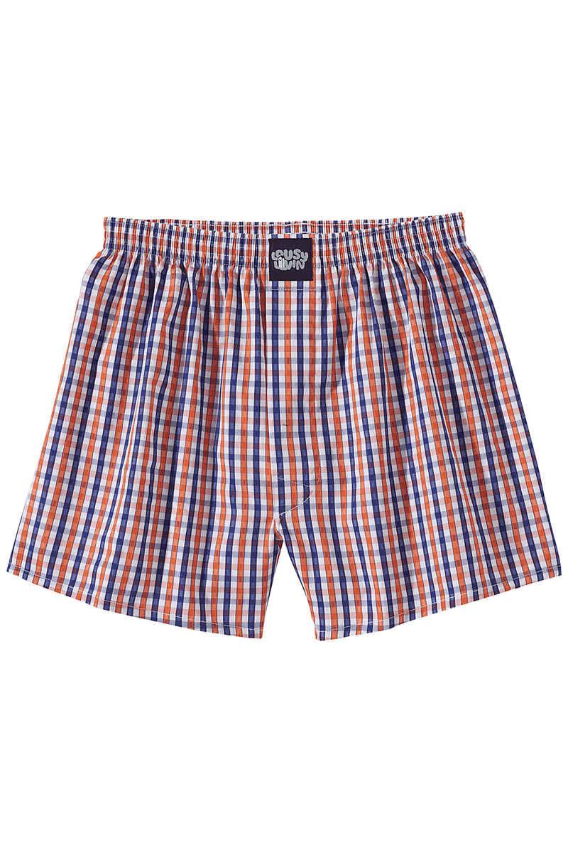 Lousy Livin Underwear Check Boxershorts (orange flash)