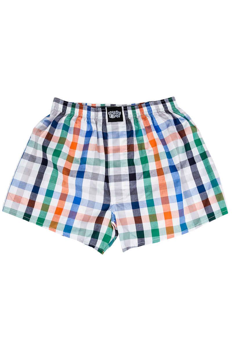 Lousy Livin Underwear Check Boxershorts (blue dive)