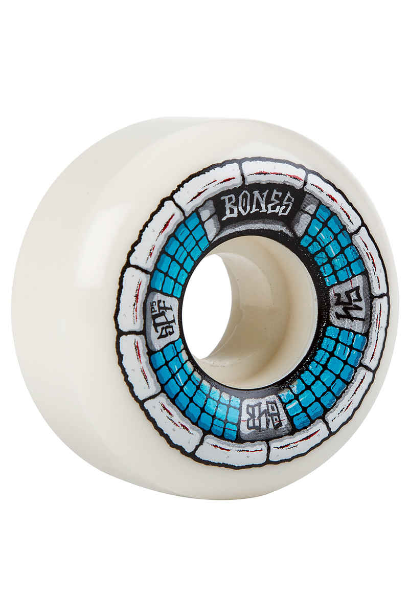 Bones SPF Deathbox P5 Wheels (white blue) 54mm 104A 4 Pack