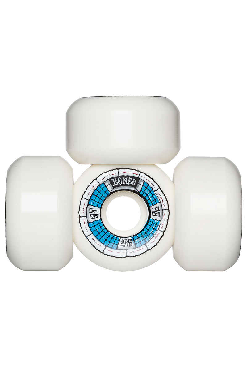 Bones SPF Deathbox P5 Wheels (white blue) 56mm 104A 4 Pack