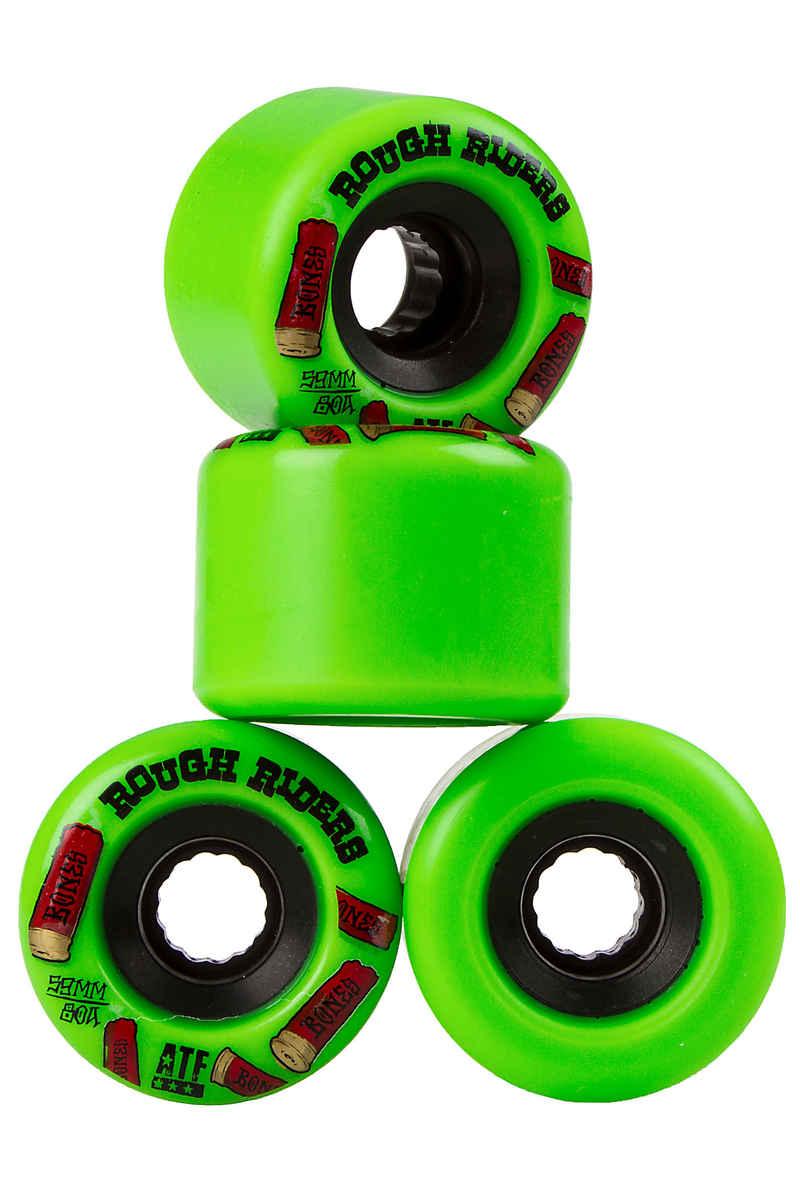 Bones ATFormula Rough Riders Shotgun Wheels (green) 59mm 4 Pack 80A