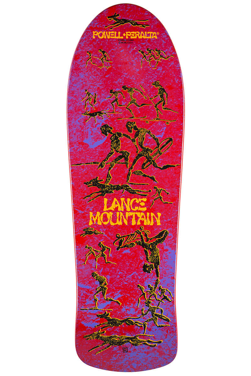 "Powell-Peralta Mountain Limited Edition 10"" Planche Skate (red)"
