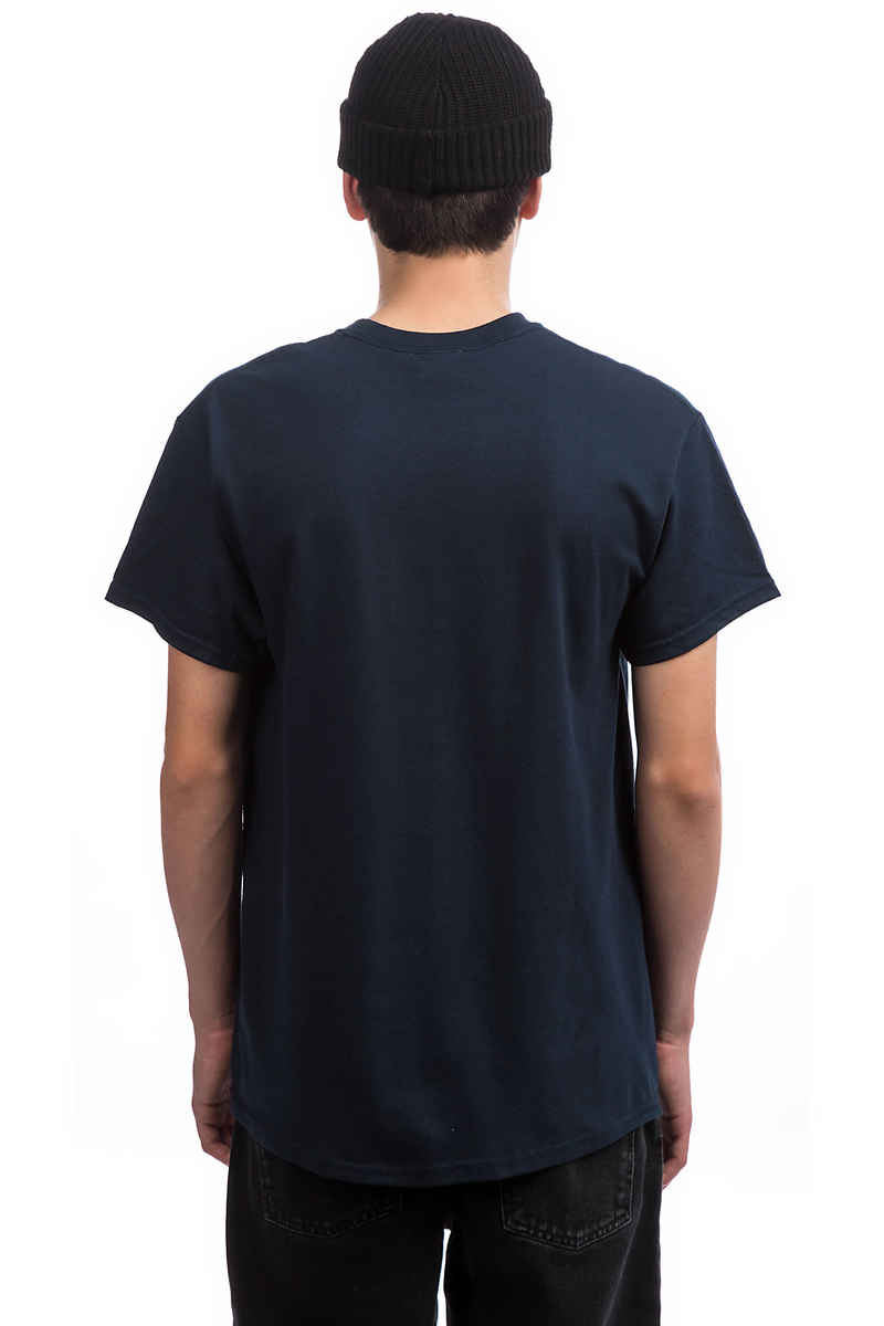 Thrasher Oval T-Shirt (navy)