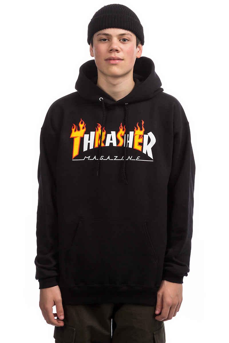 Thrasher Flame Mag Felpa Hoodie