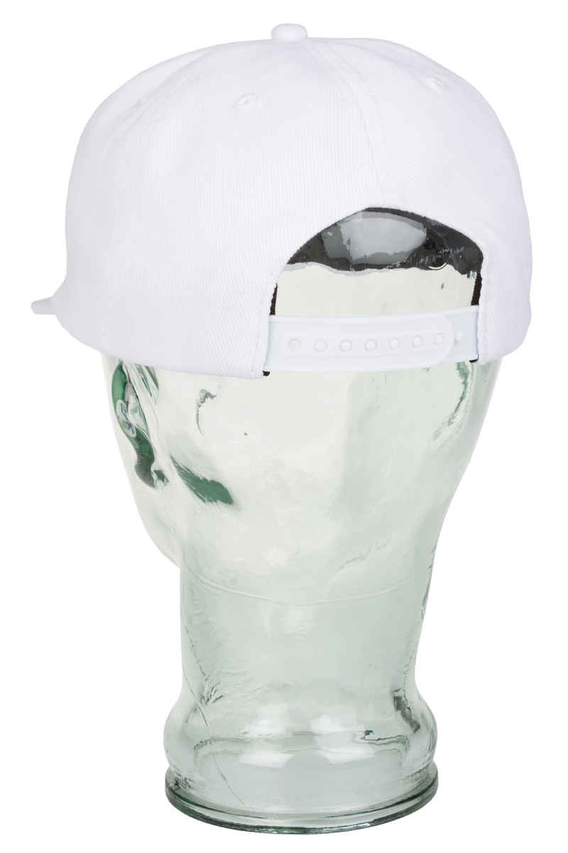 Thrasher Oval Snapback Cap (white)