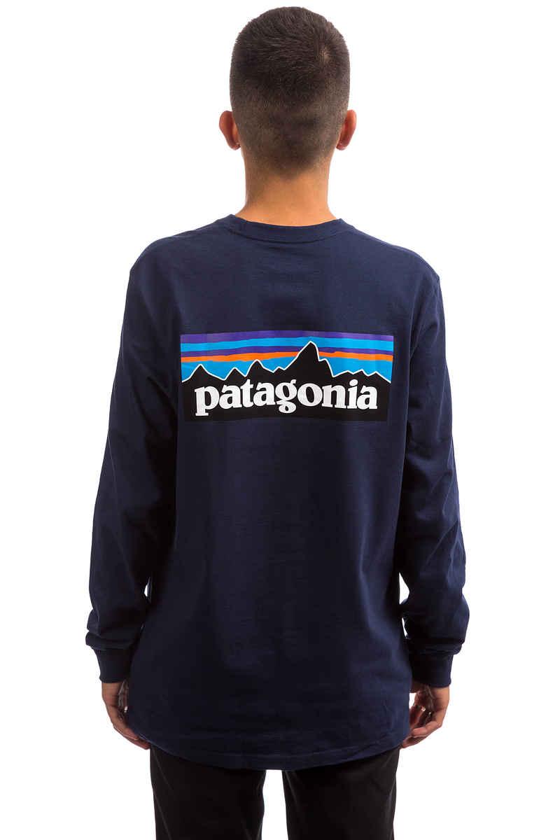 Patagonia P-6 Logo Responsibili Longsleeve (classic navy)