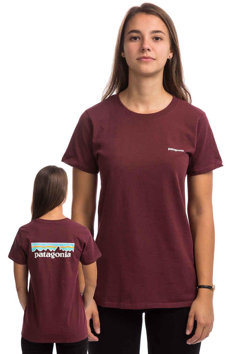 Patagonia Pastel P-6 Logo Responsibili T-Shirt women (rocky red)