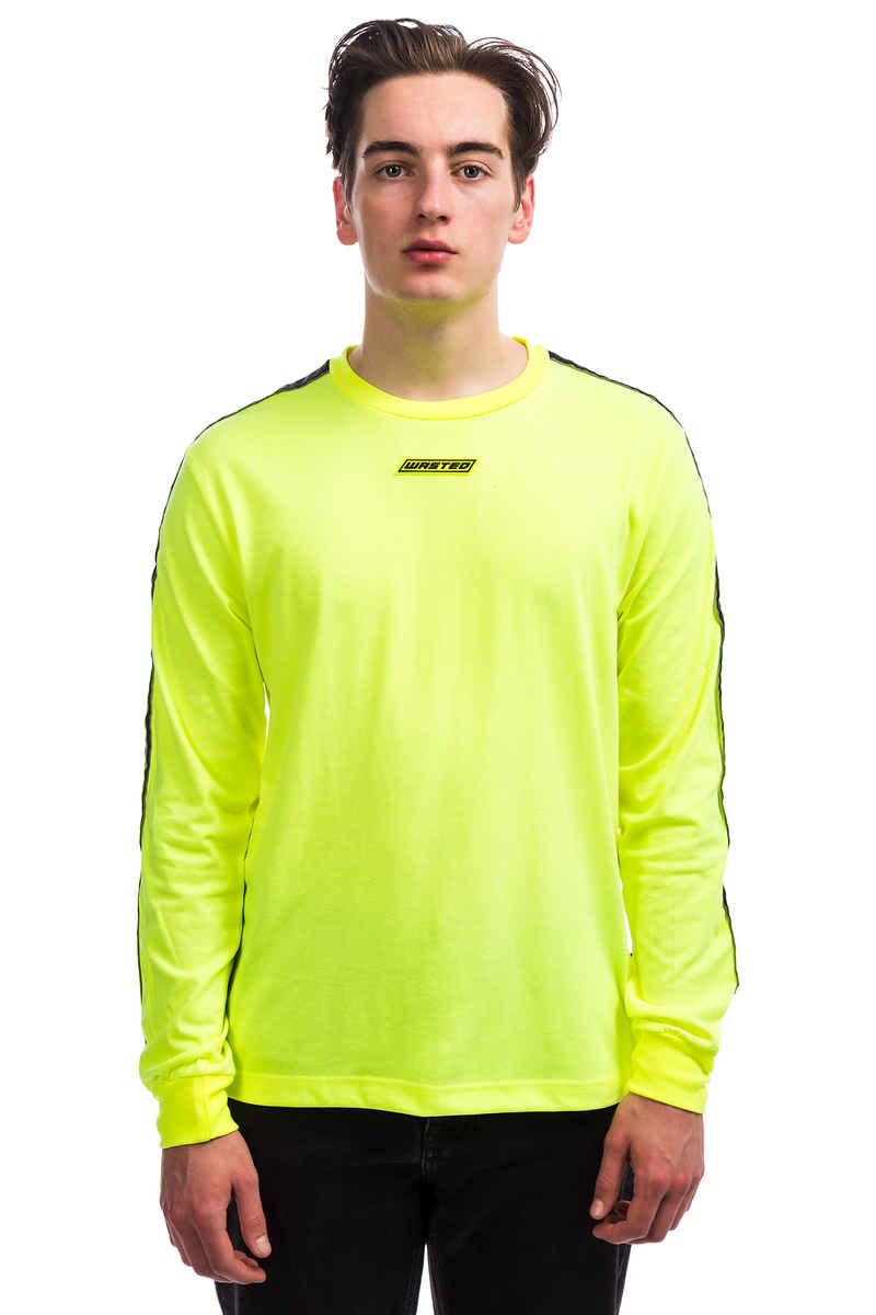 Wasted Paris Squadra Camiseta de manga larga (neon yello white)