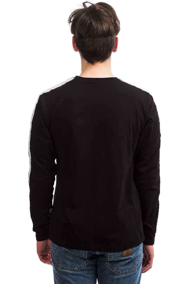 Wasted Paris Squadra Camiseta de manga larga (black white)