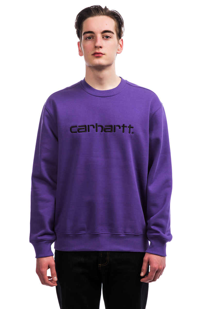 Carhartt WIP Basic Sweater (frosted viola black)