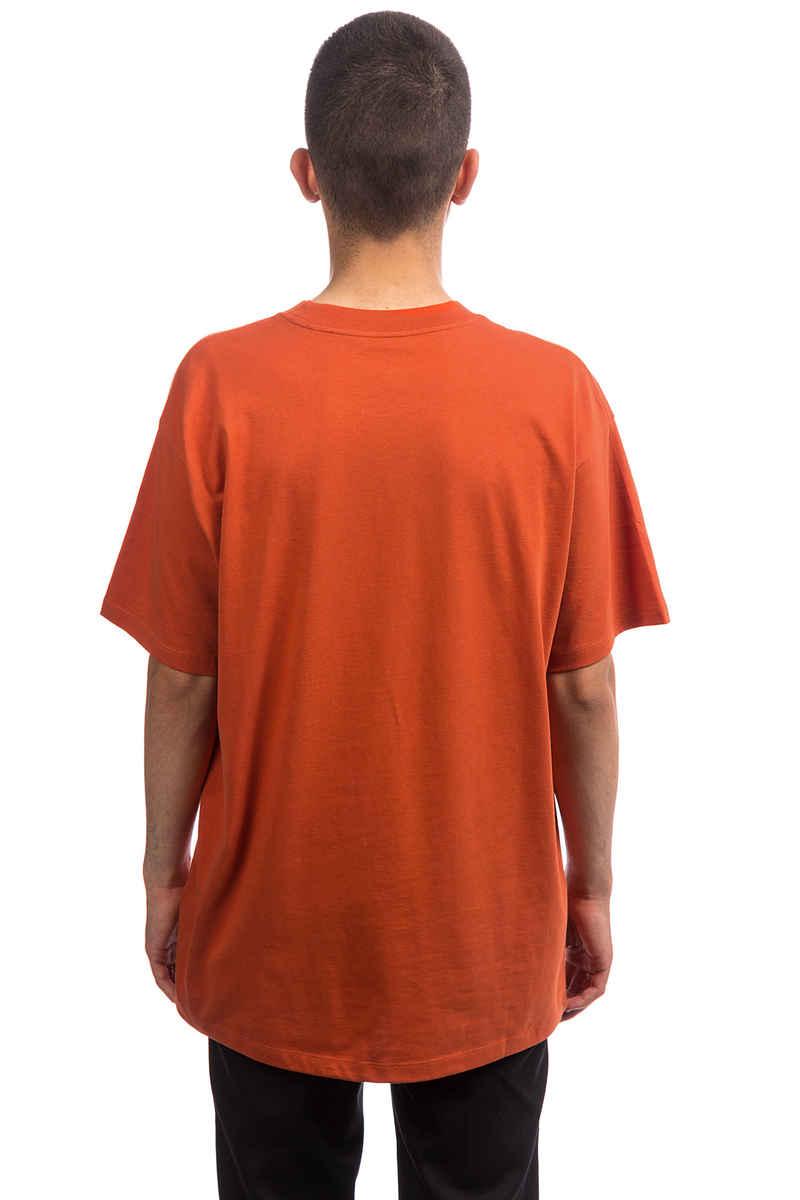 Carhartt WIP Script Embroidery T-Shirt (persimmon black)