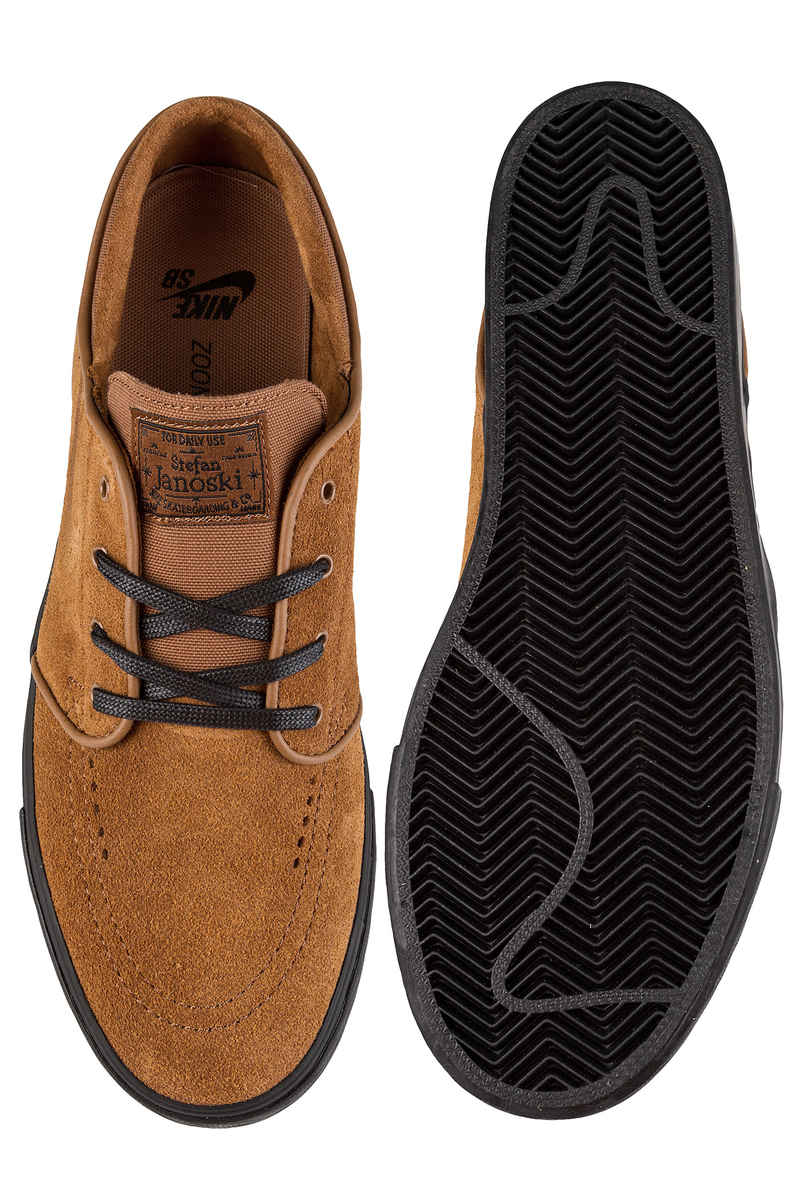Nike SB Zoom Stefan Janoski Schuh (light british tan black)
