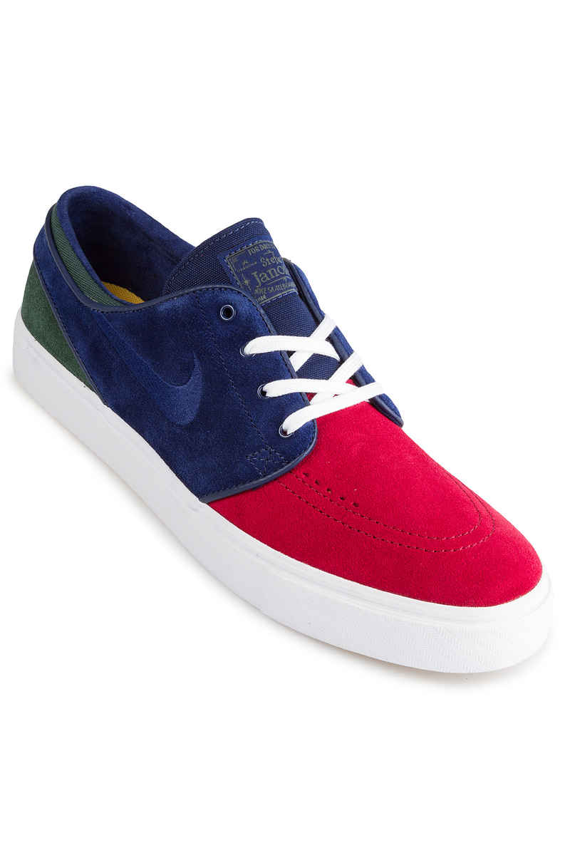 Nike SB Zoom Stefan Janoski Schuh (red crush blue void)