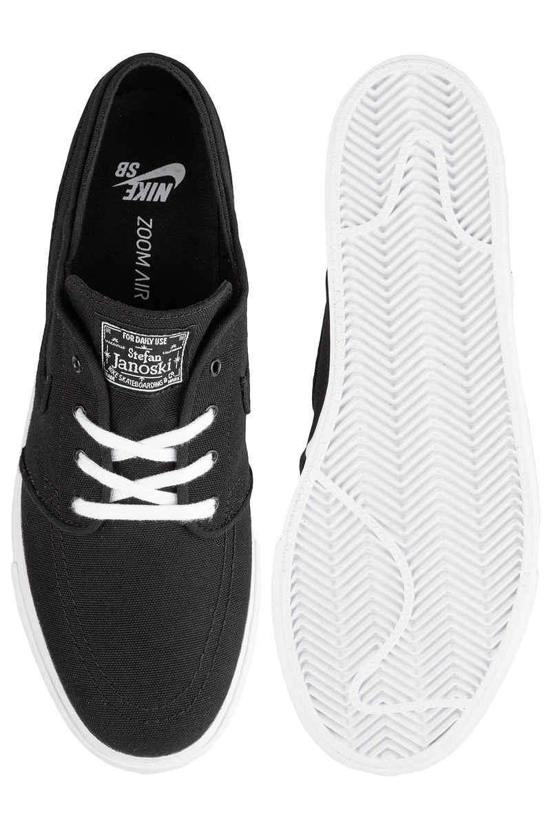 Nike SB Zoom Stefan Janoski Canvas Schuh (black black white)