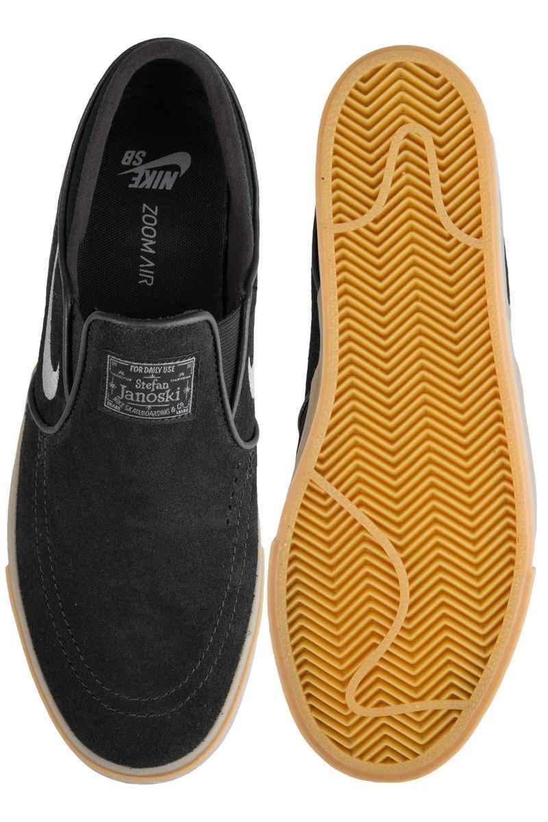 Nike SB Zoom Stefan Janoski Slip Chaussure (black gunsmoke gum)