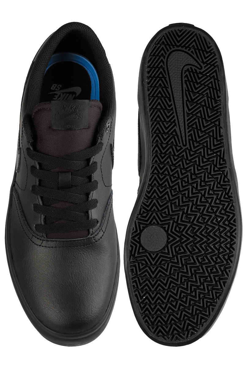 Nike SB Check Solarsoft Shoes (black black black)