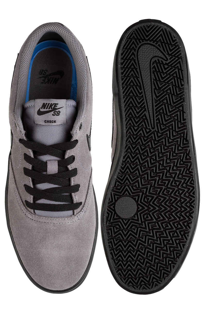 Nike SB Check Solarsoft Chaussure (gunsmoke black)