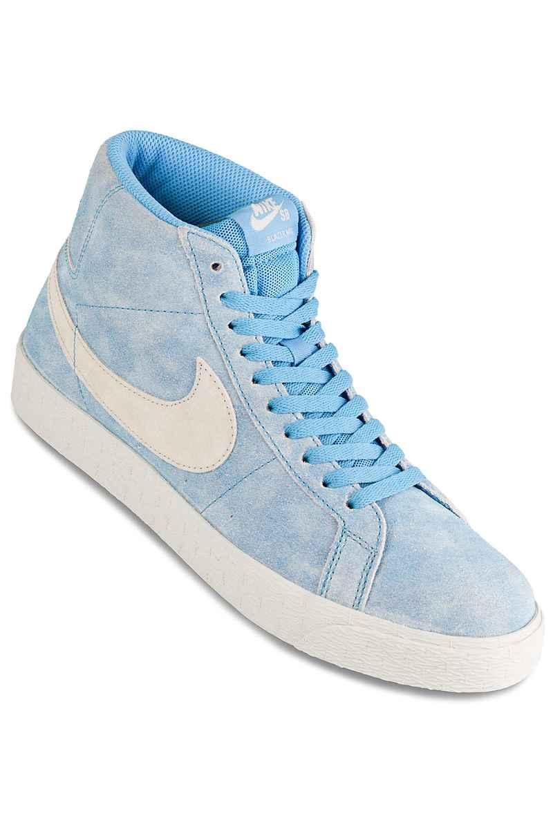 Nike SB x Lance Mountain Zoom Blazer Mid Schoen (university blue light bone)