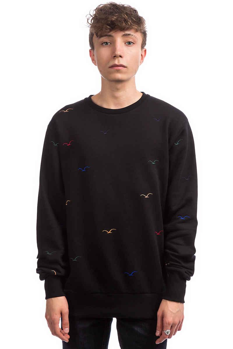 Cleptomanicx Seagull 2 Sweatshirt (black)